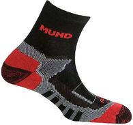 Термоноски Mund Trail Running 335 Black/Red