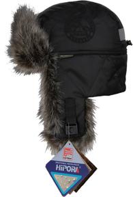 Шапка-ушанка NordKapp Talvi Badger MX Black