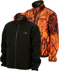 Куртка флисовая двухсторонняя JahtiJakt Reversible Camo