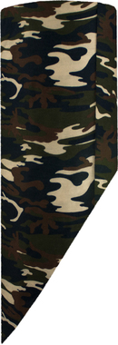 Треугольная бандана из микрофибры Wind X-Treme Bandana Camouflage Kaki 19067
