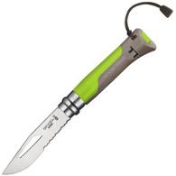 Многофункциональный нож Opinel № 8 Outdoor Earth Green