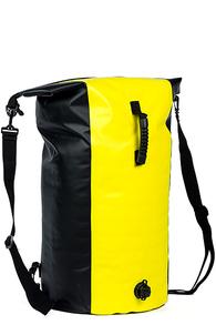 Баул герметичный Prime Camping Yellow 60 л с клапаном
