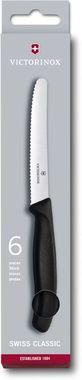 Набор кухонных серрейторных ножей Victorinox Swiss Classic