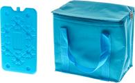 Сумка изотермическая Iceman Cooler Bag Turquoise 7 л + аккумулятор холода