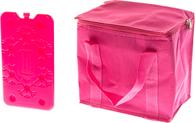 Сумка изотермическая Iceman Cooler Bag Fuchsia 7 л + аккумулятор холода