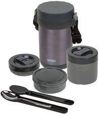 Термос из нержавеющей стали для еды с контейнерами Thermos JBG-2000 (Black) 2,0 л