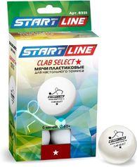 Комплект мячей для настольного тенниса Weekend Start line Club Select ★ New, 6 шт.