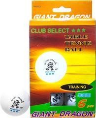 Комплект мячей для настольного тенниса Weekend Club Select ★★★ 6 шт.