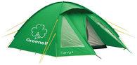 Кемпинговая палатка зеленая Greenell Керри 3 V3