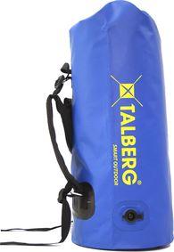 Гермомешок Talberg Dry Bag Ext 80 голубой