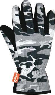Спортивные флисовые перчатки Wind X-Treme Gloves Plain 171 Camouflage Black