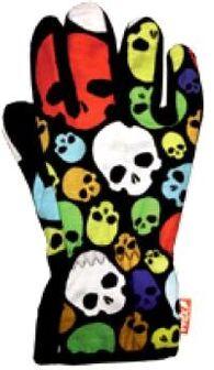 Спортивные флисовые перчатки Wind X-Treme Gloves Plain 231 Happy Skulls
