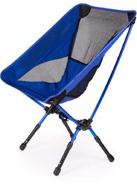 Складной облегченный туристический стул Tourist Chair Blue