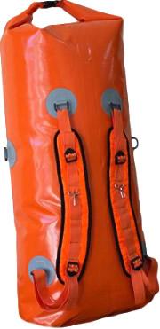 Гермомешок-рюкзак Берег 110л Оранжевый