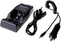 Двухканальное зарядное устройство WF-139 Li-Ion для литий-ионных аккумуляторов с адаптером для прикуривателя