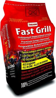 Березовый уголь + растопка Image Fast Grill