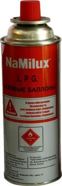 Цанговый газовый баллон NaMilux 220 г