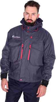 Куртка мембранная для рыбалки Nova Tour Fisherman Риф Pro
