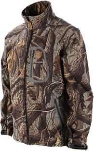 Куртка флисовая камуфлированная JahtiJakt Softshell Camo