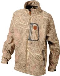 Куртка флисовая камуфлированная JahtiJakt Softshell Reed Camo
