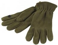 Флисовые перчтаки для охоты JahtiJakt Premium Fleece Green
