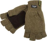 Перчатки без пальцев для охоты JahtiJakt Half Finger Green