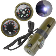 Туристический компас-свисток-фонарь Retki