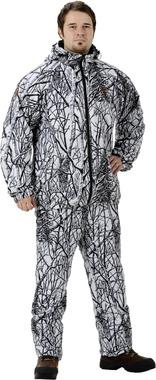 Легкий маскировочный зимний костюм JahtiJakt Archie Light Snow