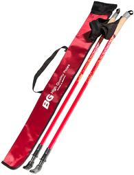 Телескопические палки для скандинавской ходьбы BG Nordic Adventure счехлом