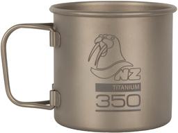 Походная титановая кружка NZ Titanium Cup 350мл