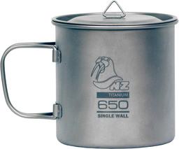 Кастрюля титановая с крышкой Ti Cup TM-650WL 650 мл
