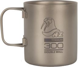 Походная титановая термокружка NZ Titanium Double Wall 300мл