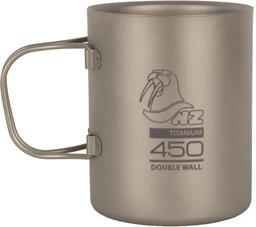 Походная титановая термокружка NZ Titanium Double Wall 450мл