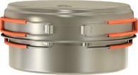 Кастрюля походная из титана NZ Titanium Cookware 1250мл