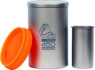 Заварочный термостакан из титана NZ Titanium Tea Cup 450 мл