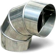 Отвод 90° на печь-мангал для казана Grillux